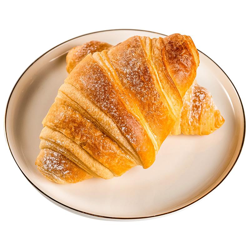 哈根达斯同款羊角法式可颂半成品牛角面包起酥冷冻早饭代早餐速食