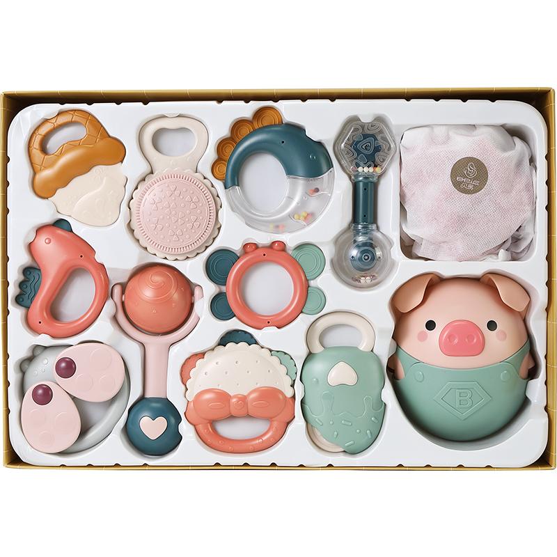 贝易婴儿玩具0-1岁牙胶可手摇铃好不好