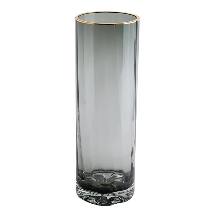 北欧简约创意轻奢透明水养插花瓶评价好不好