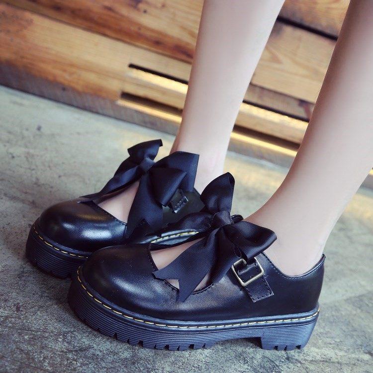 可爱圆头洛丽塔鞋子女学生小皮鞋女日。