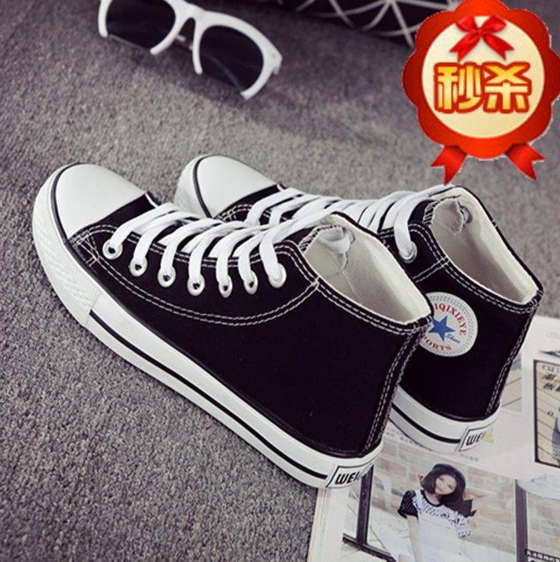 . mens high top canvas shoes, mens trendy board shoes, students sports and leisure shoes, middle top, womens middle long shoes.