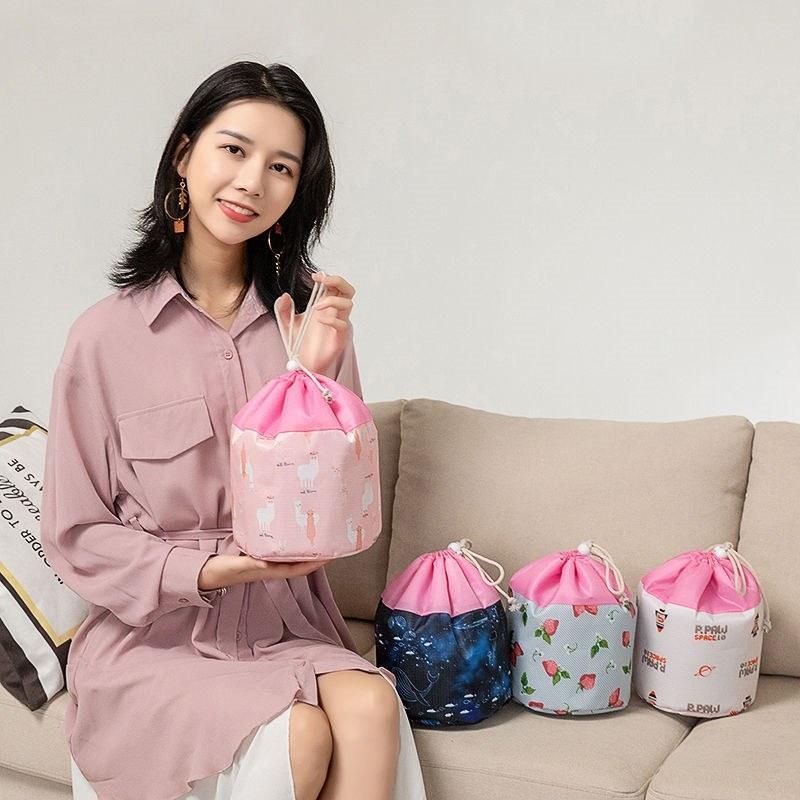 化妆包大容量便携外出旅行收纳袋学生韩版可爱化妆品收纳盒洗漱包