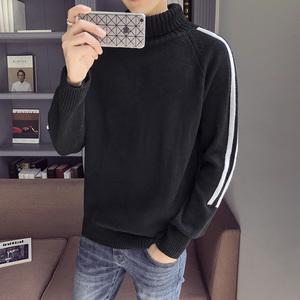 高领毛衣男冬季针织衫男士长袖修身新款毛衫韩版潮流打底衫