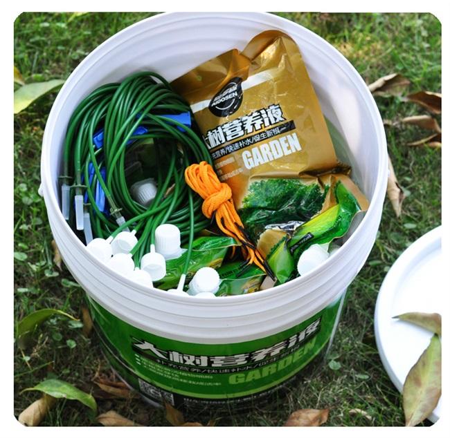 点滴大根移栽树木营养液吊针液通发型H生根剂果树用树营养液吊袋