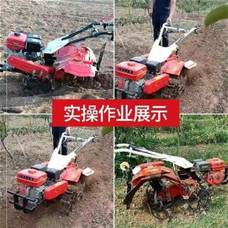 扶拖拉机转向农用动力农业微x耕小型耕地机手松土器水冷松土机田