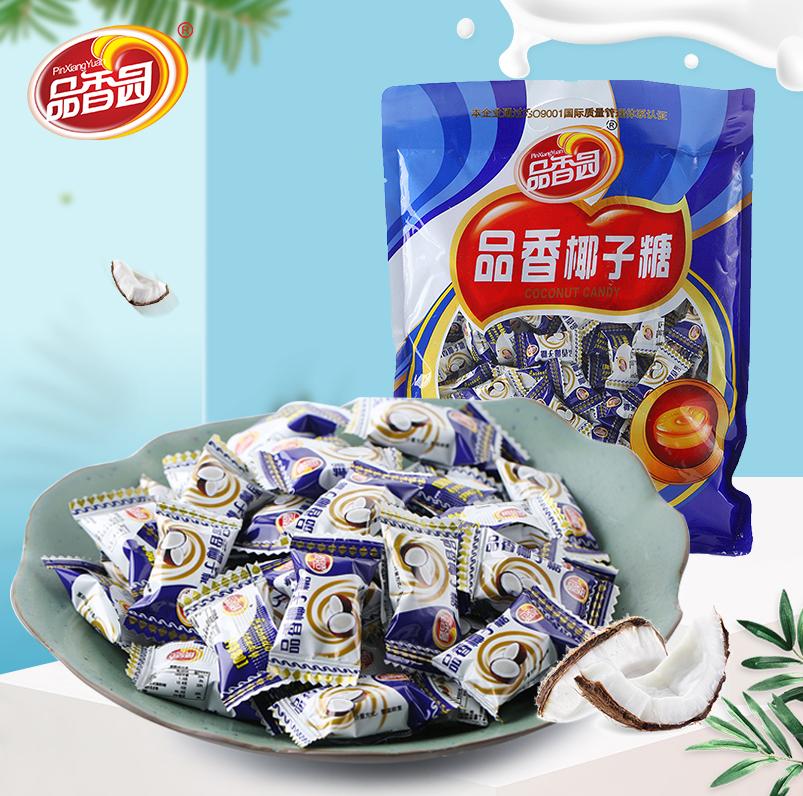 海南特产袋装500g婚庆品香园椰子糖券后21.90元
