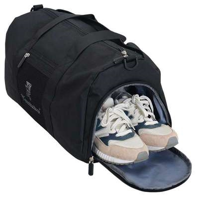 New fitness travel bag pillow shaped shoe warehouse dry wet separation bag f mens and womens hand-held Single Shoulder Messenger luggage medium