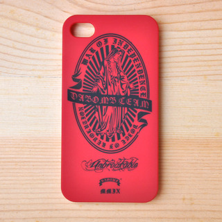 DABOMB AVE MARIA IPHONE4/4s CASE / 蘋果手機保護殼.紅色