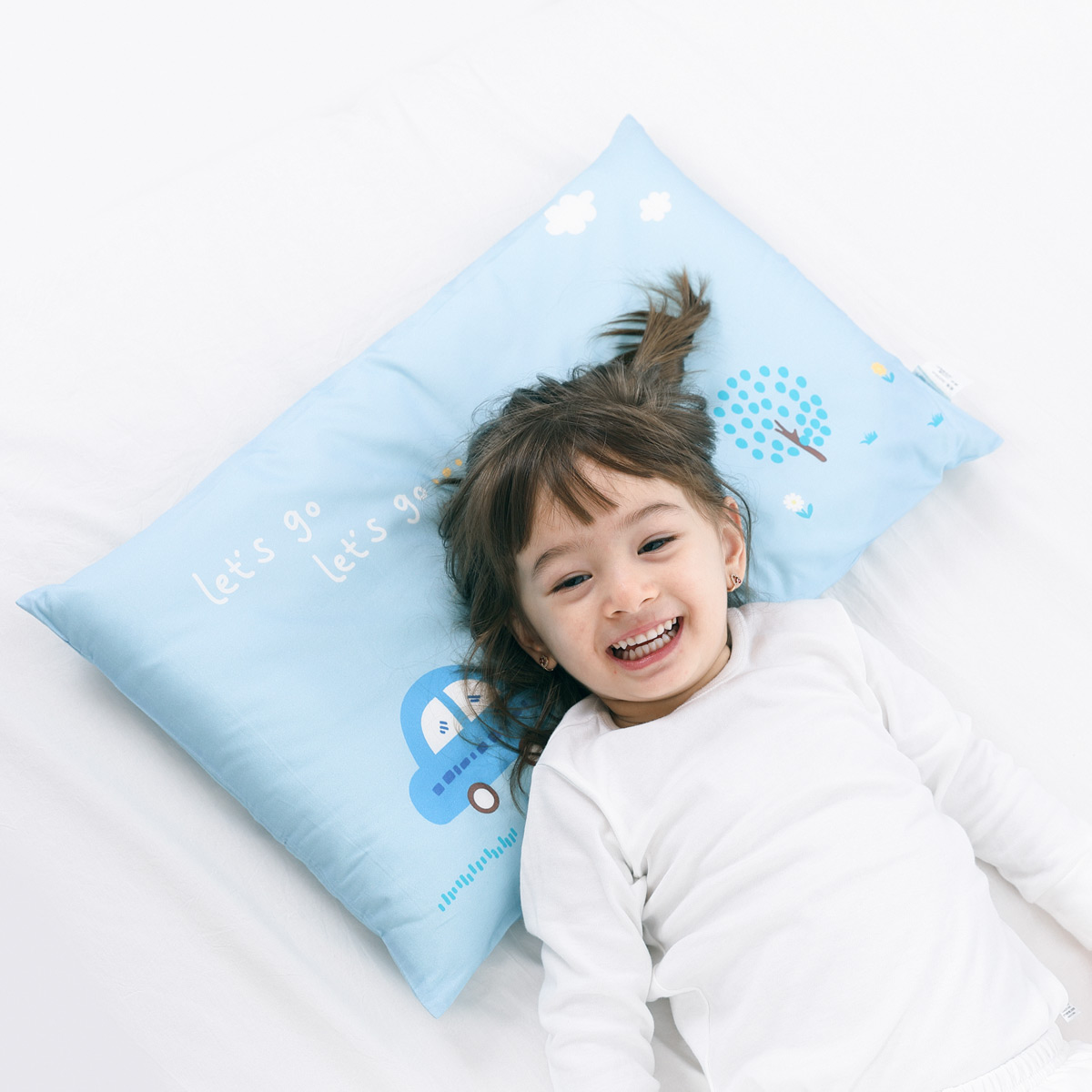 水星Baby婴儿枕头儿童0-t1宝宝3-6岁幼儿园小学生小孩儿童决明子