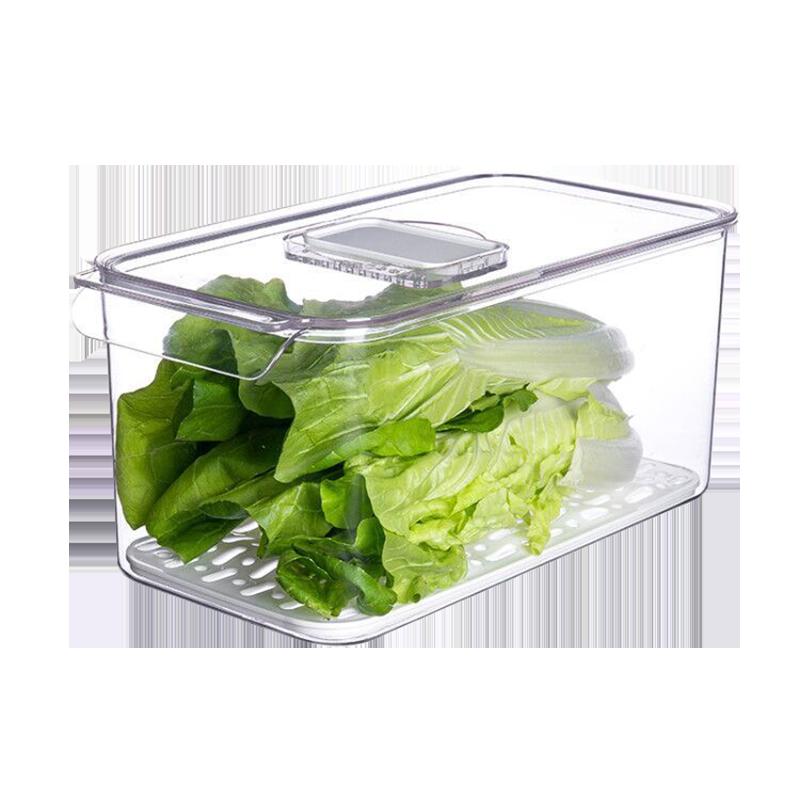 万佳宁冰箱收纳盒抽屉式厨房食品果蔬鸡蛋速食保鲜冷藏冷冻储存盒