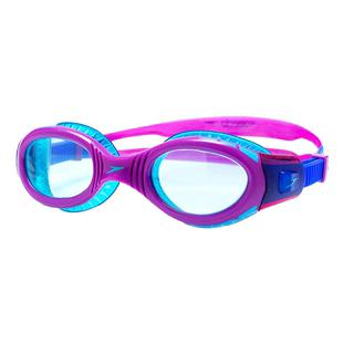 Speedo兒童泳鏡男女童專業訓練防水防霧高清游泳眼鏡大框潛水鏡