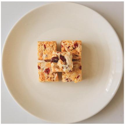 拍2发3 牛轧奶芙 蔓越莓风味小吃茶点休闲散装网红美食办公室零食