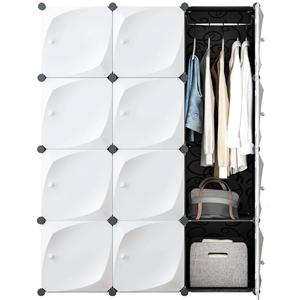 衣柜经济型简约现代布塑料子推拉门