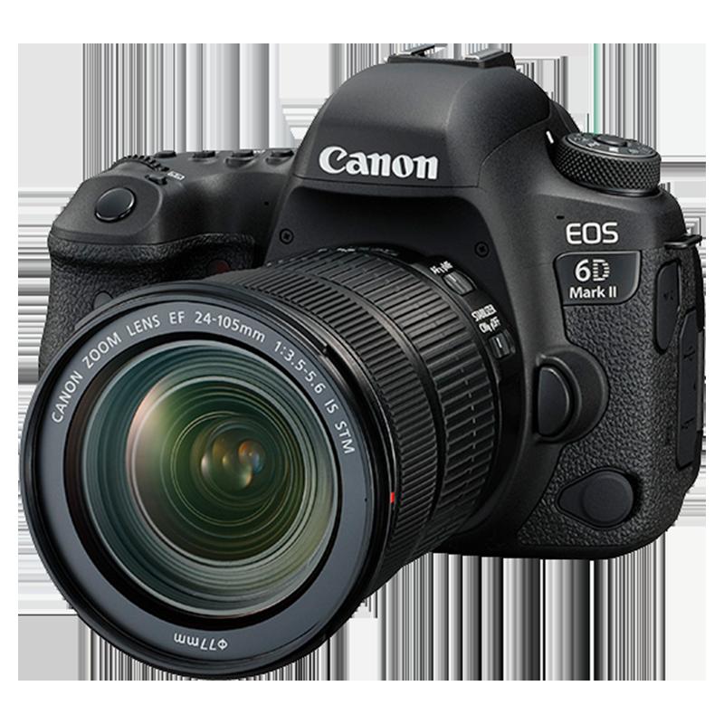 佳能相机6D2套机 6D Mark II(24-105)高清专业全画幅数码单反相机