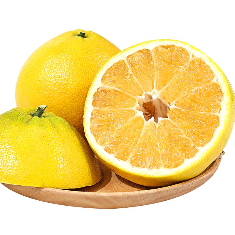 常山10斤胡柚新鲜水果当季特产柚子西柚大果5胡柚树果苗20包邮
