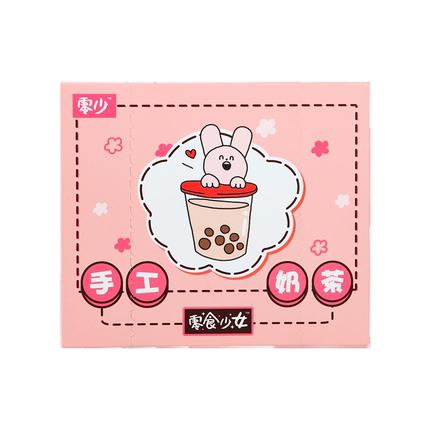 零食少女手工网红组合装搭配奶茶