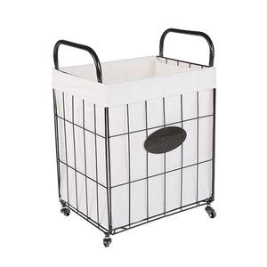 铁艺折叠家用衣物桶北欧轻奢脏衣篮
