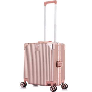 行李箱女ins網紅小型密碼輕便拉桿箱萬向輪男潮18寸旅行箱登機箱