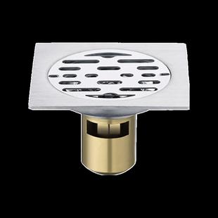 地漏防臭卫生间洗衣机两用304加厚不锈钢浴室厕所专用防虫反溢水