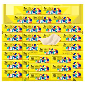 24包80抽!非60抽!思景纸巾抽纸整箱