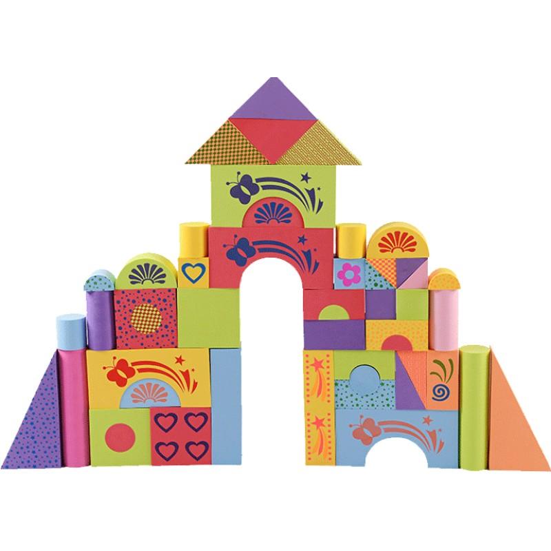 超大号泡沫砖头大块巨型儿童玩具质量好不好