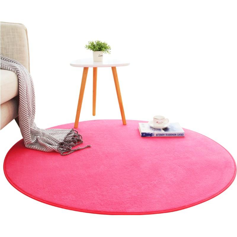 圆形卧室客厅儿童吊篮电脑椅茶几毯好不好