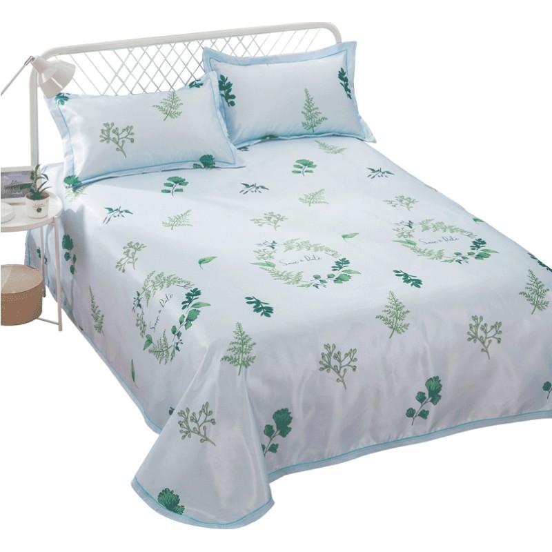 冰丝凉席三件套夏季1.5m1.8米床席子可折叠可水洗床单空调软席