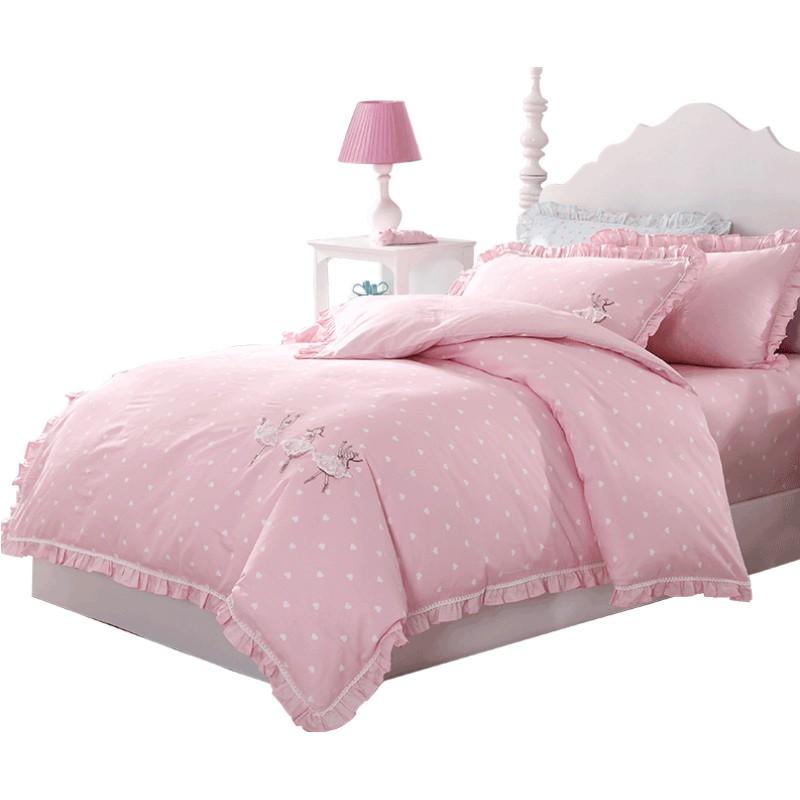 梦洁宝贝儿童四件套纯棉三件套枕套质量如何