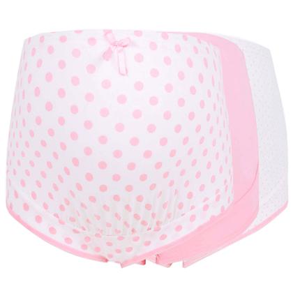 3条装棉孕妇高腰托腹可调节内裤