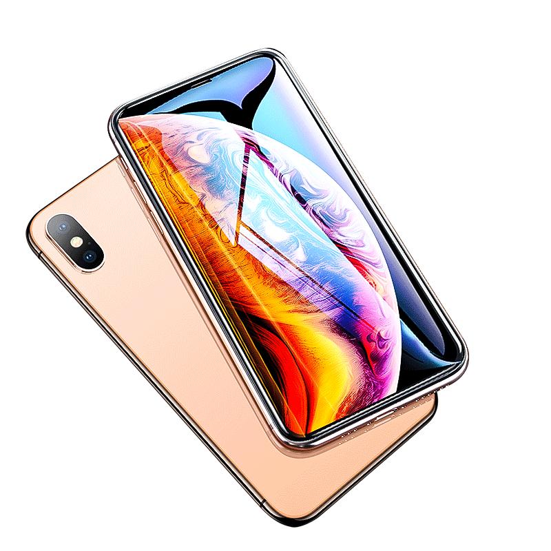第一卫iPhoneX钢化膜苹果XsMax手机Xs贴膜全屏覆盖Xmax背膜iPhoneXS蓝光iPhone X后xs max防窥s玻璃8x水凝ipx