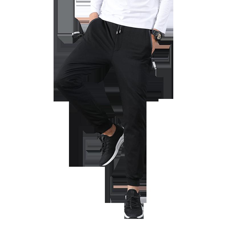 新款羽绒裤男中学生冬装长裤加厚保暖棉裤冬季外穿长裤反季清仓