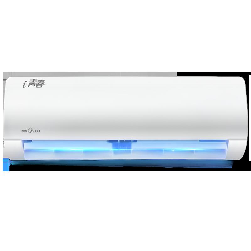 美的变频空调 大1匹p智能联网冷暖家用壁挂式KFR-26GW/WCBN8A3@