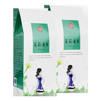饮典茉莉花茶浓香型2019茉莉花绿茶