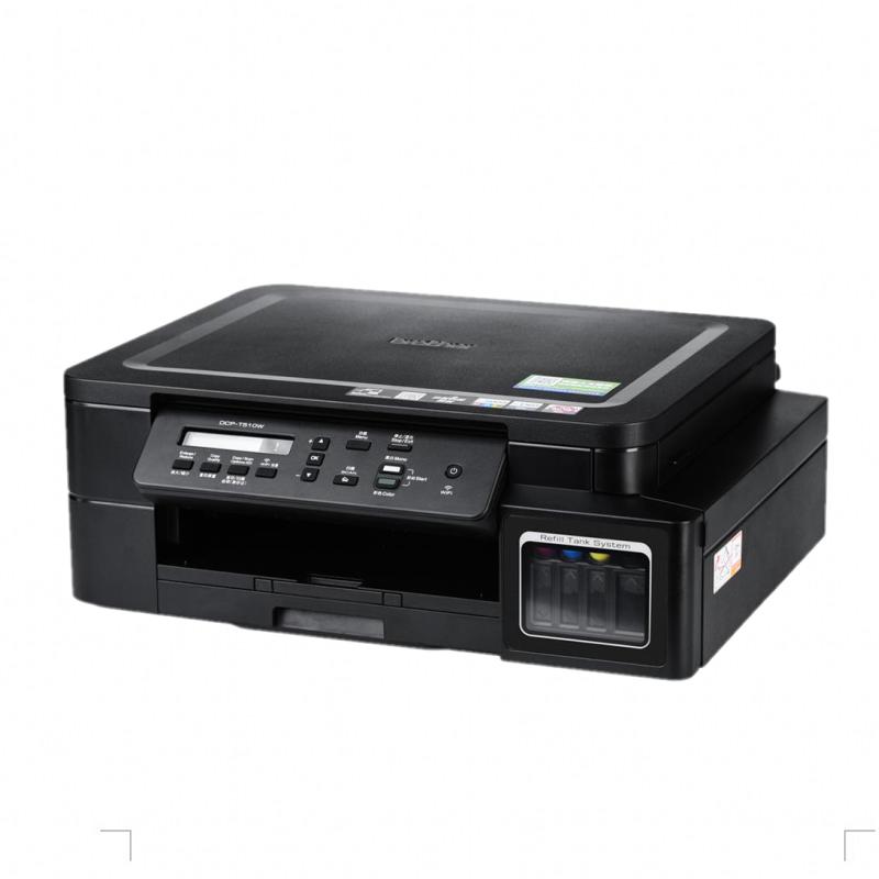 兄弟DCP-T510W彩色喷墨连供墨仓式无线WIFI照片打印机一体机复印扫描三合一小型家用办公商用图片打印替T500W