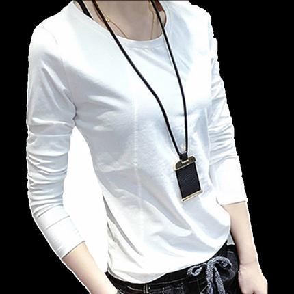 2020新款春季秋装修身韩版长袖t恤