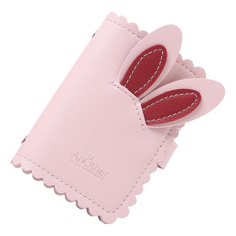 防消磁卡套小巧卡包钱包一体包女式超薄高档大容量卡片包卡夹精致