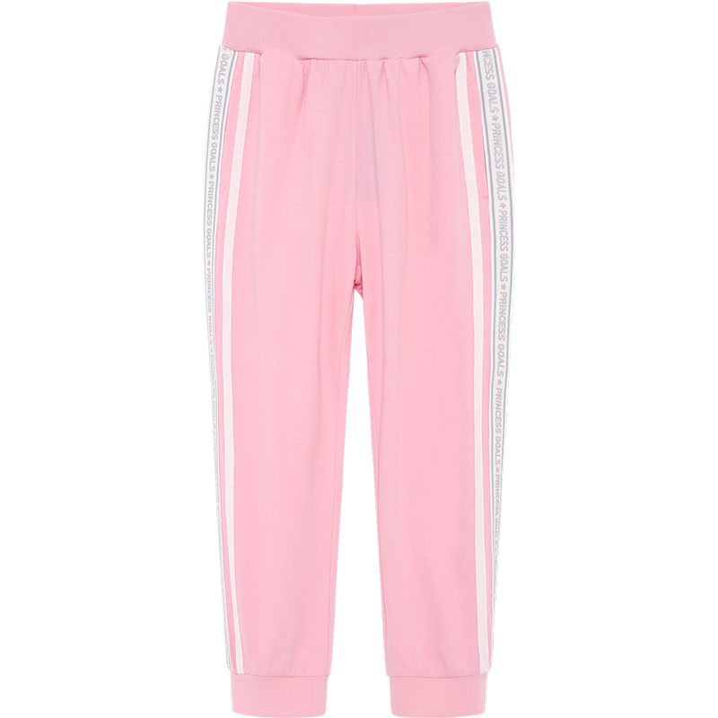 TCP绮童堡童装女童裤子夏装外穿2020新款儿童运动防蚊裤中大童