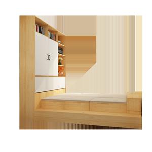 简约现代榻榻米定制卧室魔方储物床