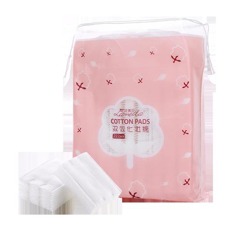 化妆棉卸妆棉片卸妆用脸部拍爽肤水一次性专用巾盒装纯棉卸载厚款