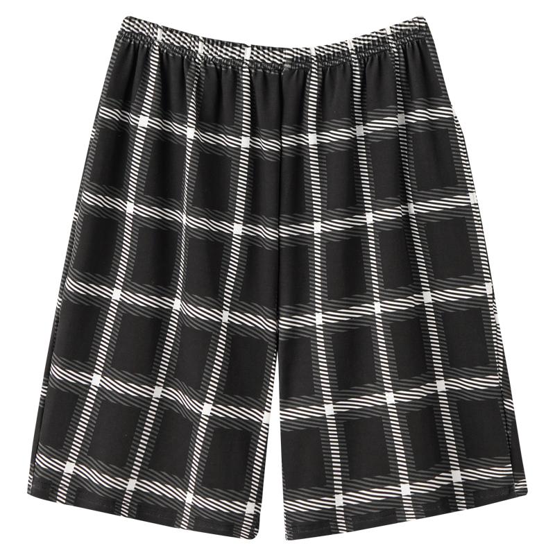 南极人睡裤男士夏季短裤纯棉薄款大裤衩子可外穿家居裤2021年新款