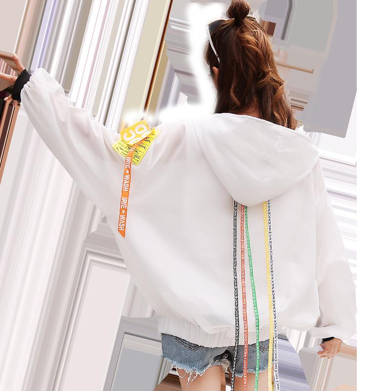 防晒衣女2019夏季新款韩版学生小清新宽松百搭仙女防晒开衫薄外套
