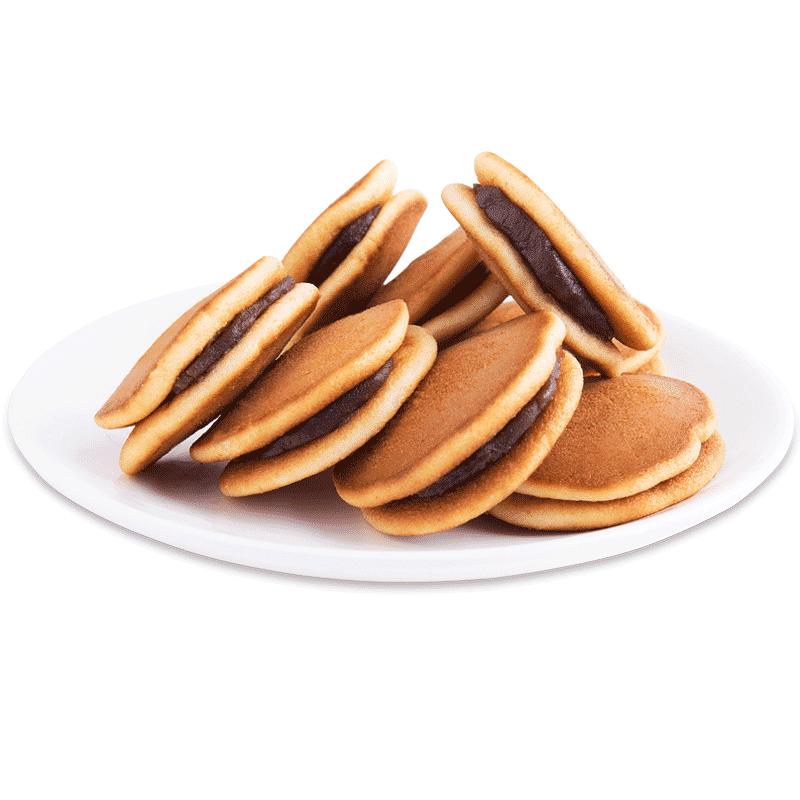 香当当铜锣烧夹心蛋糕整箱网红零食品早餐充饥夜宵小面包点心批发