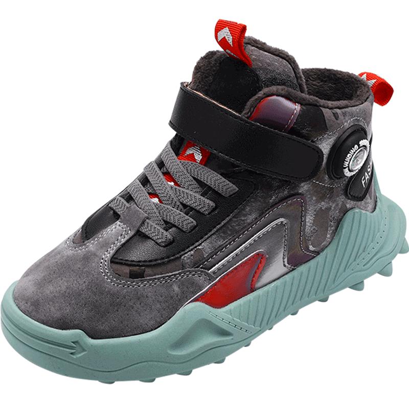 男童棉鞋2020新款冬鞋加绒加厚大童秋冬季大棉儿童鞋子男孩二棉鞋