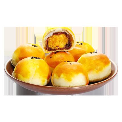 冠先王子蛋黄酥雪媚娘海鸭蛋麻薯