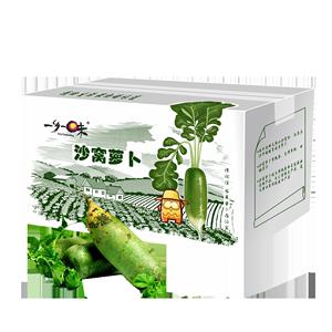 天津正宗沙窝生吃新鲜甜脆型青萝卜
