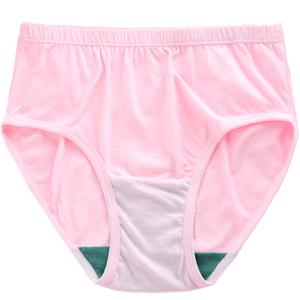 ab女士纯棉抗菌中老年妈妈头短裤