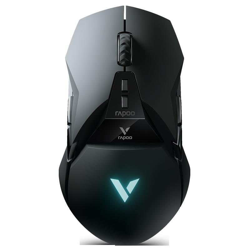 雷柏VT950 无线游戏鼠标充电双模电竞宏编程OLED 电脑LOL吃鸡配重