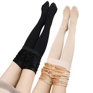 浪莎光腿神器女秋冬裸感肉色打底裤外穿丝袜连裤袜加绒加厚冬季款