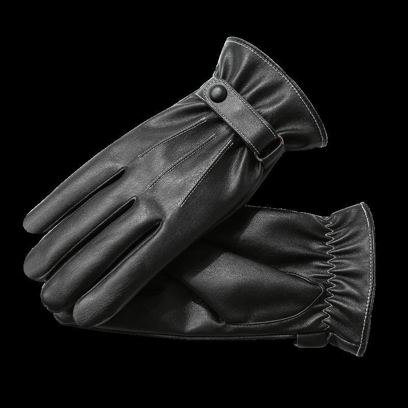 男士皮手套冬季骑行保暖防水防风加绒加厚韩版男冬骑车摩托车手套