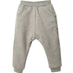 迷你巴拉巴拉男童長褲冬新款韓版兒童褲子厚款保暖運動休閒褲